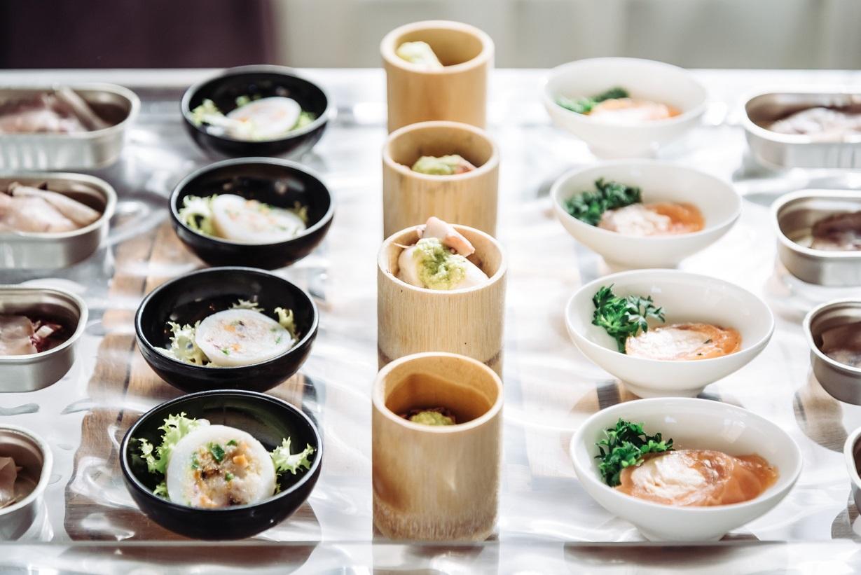Wedding food design