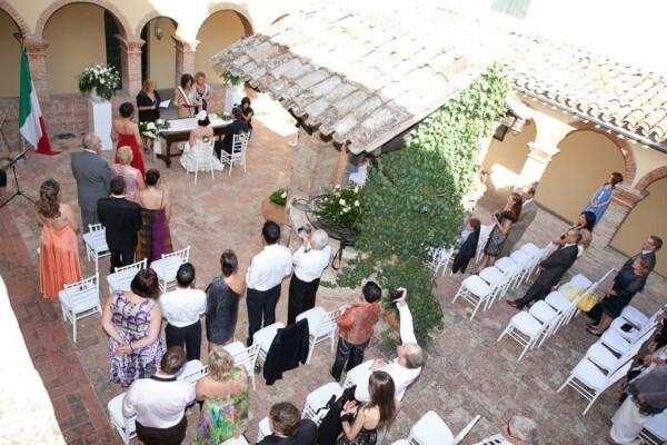 Australian wedding in Italy
