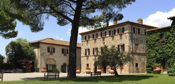 Borgo San Felice luxury wedding Tuscany