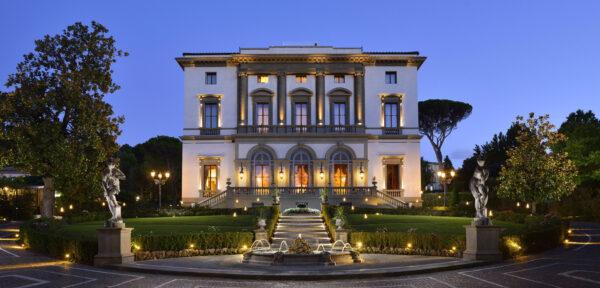 Villa Cora luxury wedding Tuscany