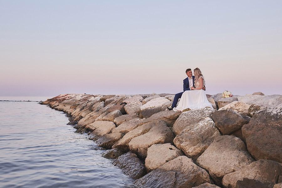 Wedding on the beach near Venice 13