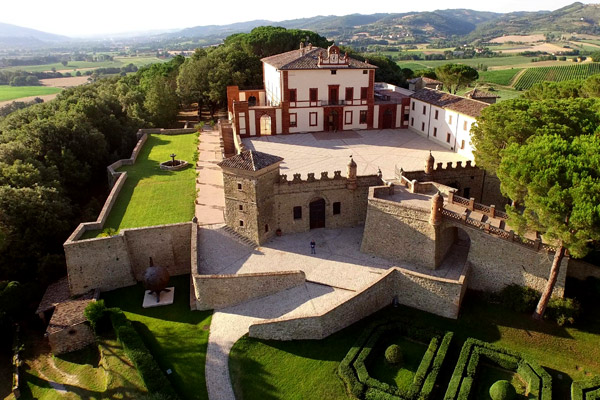 Central Italy and Umbria wedding venues
